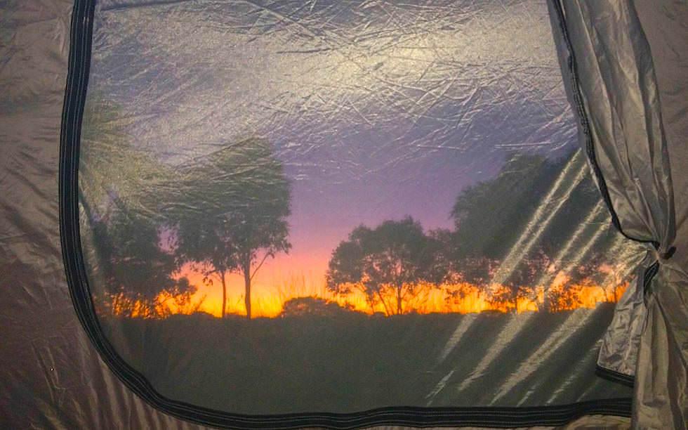 Sunrise at Devil Marbles Center Australia Northern Territory