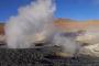 Der brodelnde Sol de Mañana Geysir, heiße Quellen, die Salvador Dali Wüste & mehr Lagunen auf der Salar de Uyuni Tour