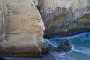 Tunnel Beach Track – Atemberaubend schöne, wilde, zerklüftete Küstenlandschaft bei Dunedin