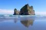 Wharariki Beach & Archway Islands – Überwältigend schöner Strand, gigantische Sanddünen & pittoreske Felsformationen!