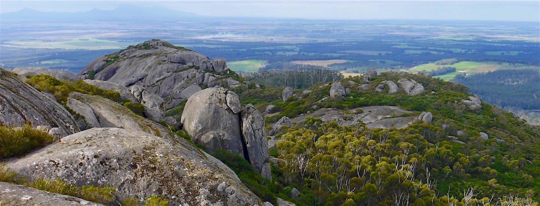 Porongurup National Park – Der spektakuläre Castle Rock Skywalk & viele runde Granitberge