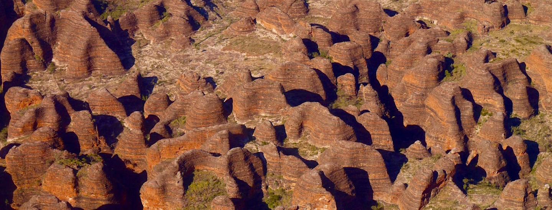 Bungle Bungle & Cockburn Ranges – Faszination Kimberley Outback aus der Vogelperspektive!