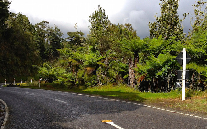 Forgotten World Highway in New Zealand
