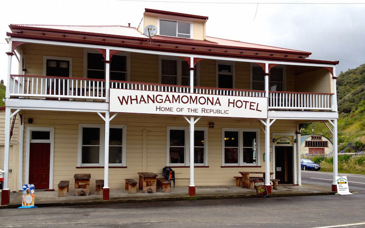 Whangomomona Hotel at Forgotten World Highway