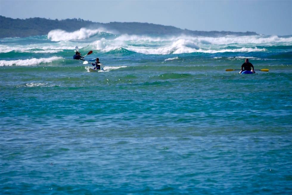 Kajak & Surfen Minnamurra - Illawarra - NSW