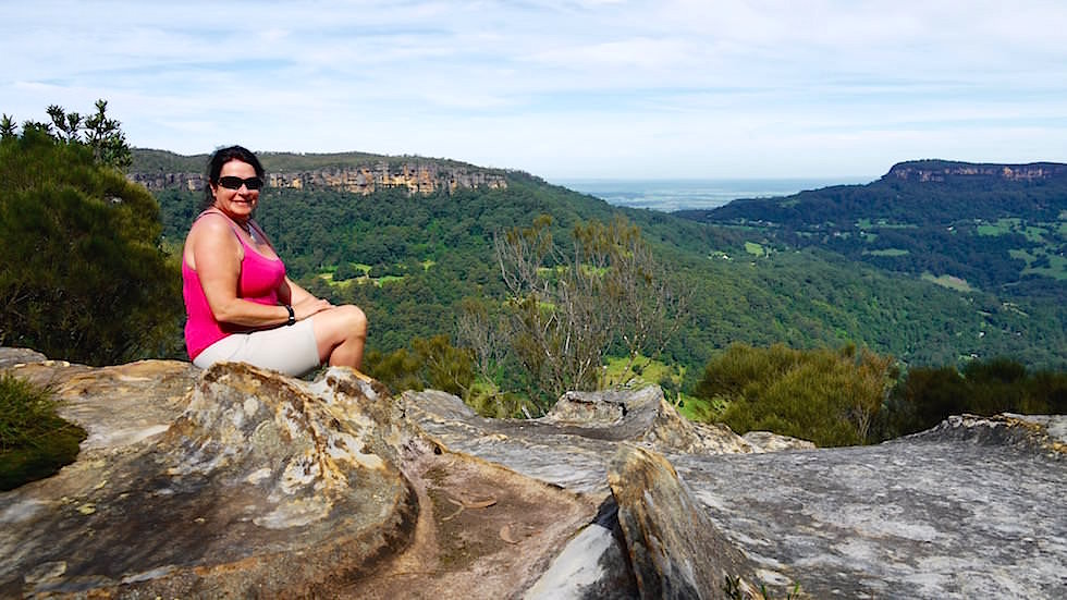 Ausblick von Cooks Nose - Barren Ground National Park - Illawarra - New South Wales