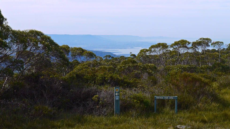 view from barren grounds nature reserve