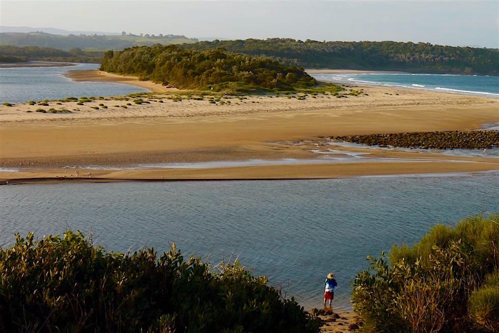 Blick auf Minnamurra River - Illawarra - NSW