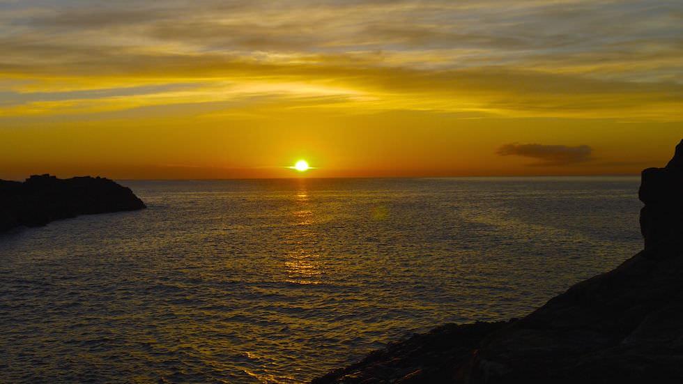 bombo quarry sunrise