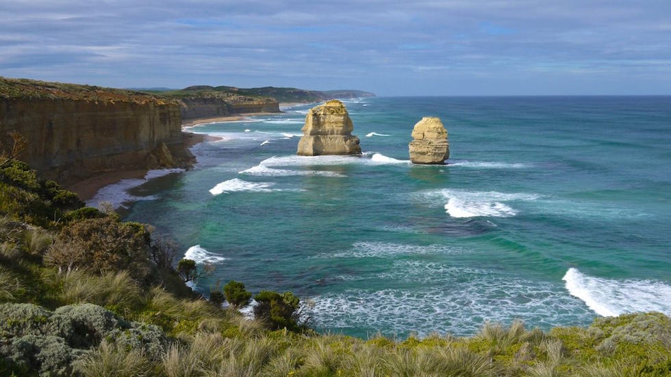 The 12 Apostles on the Great Ocean Road