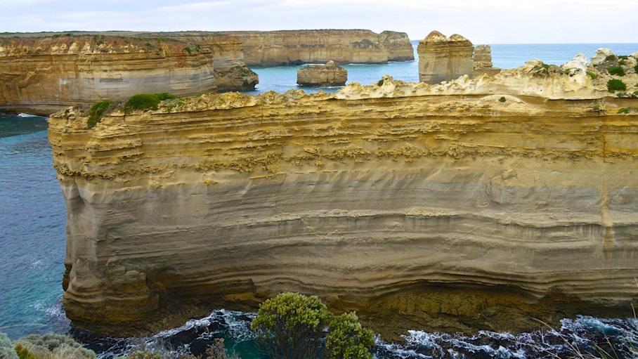 Loch Ard Gorge Razorback - Great Ocean Road- Victoria, Australien