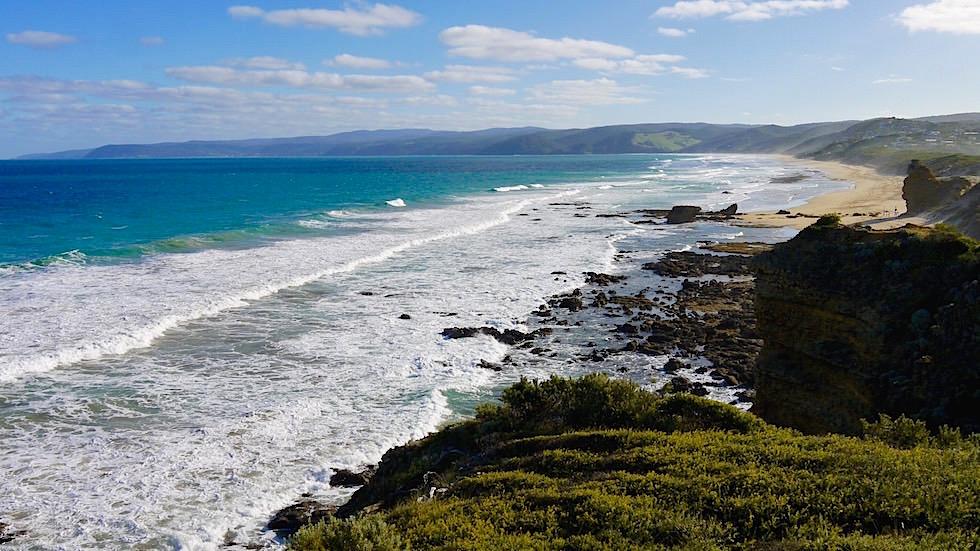 Aireys Inlet - Küste und Strand - Great Ocean Road Victoria, Australien