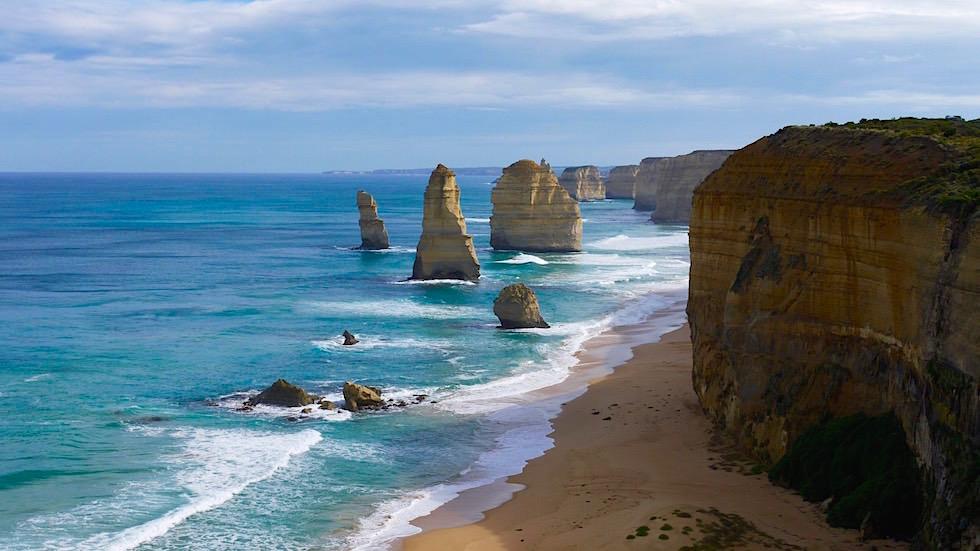 Blick auf Twelve Apostels - Zwölf Apostel - Great Ocean Road Victoria