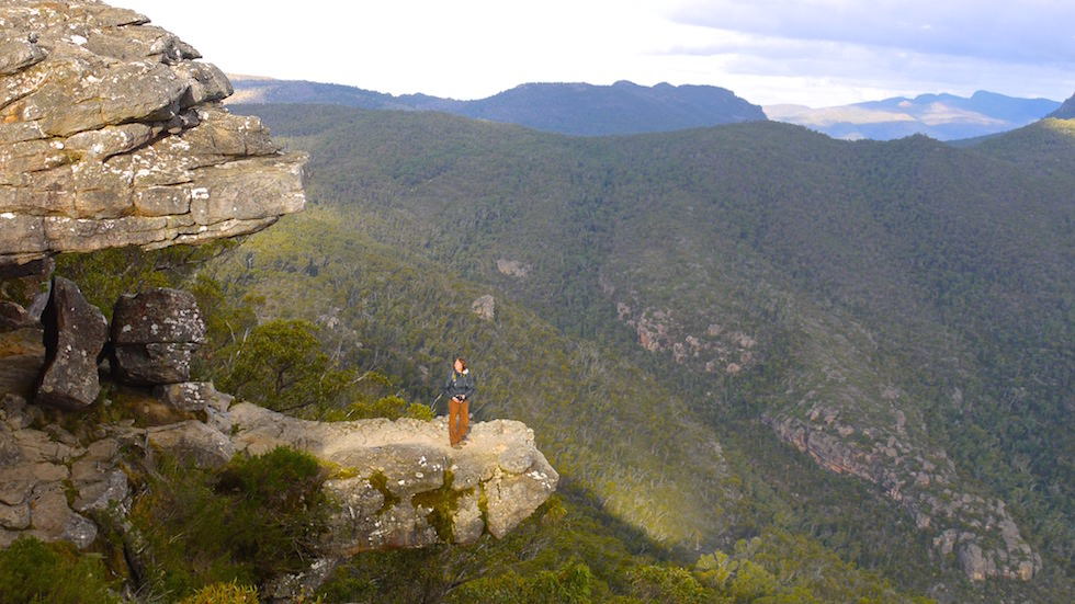 The Balconies: Ausblick vom Ried Lookout gesehen - Grampians National Park - Victoria