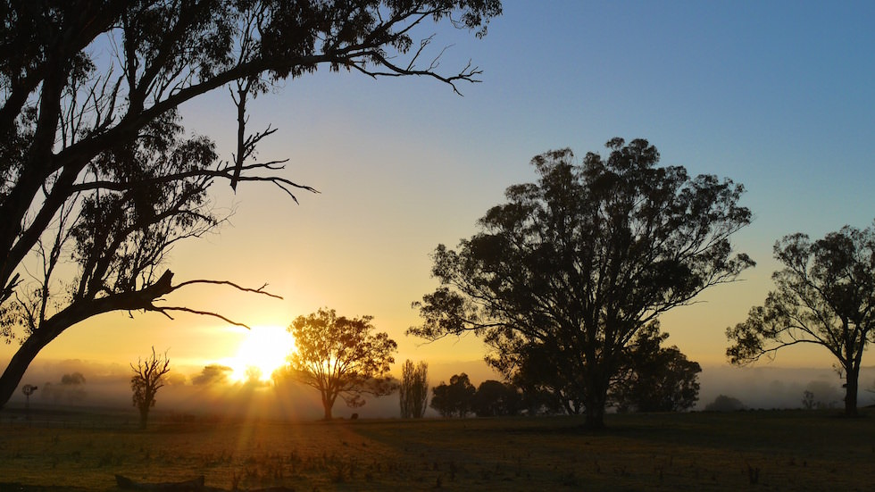 Sunrise Outback Queensland