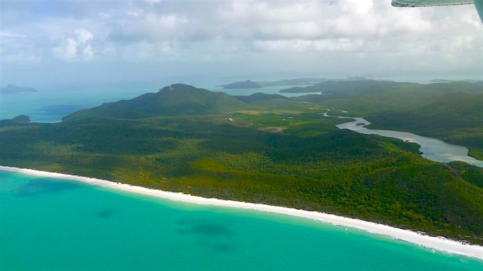 Flug Whitsunday Islands - Great Barrier Reef - Queensland