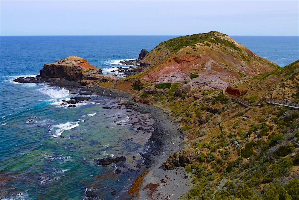 Blick auf Cape Schanck - Mornington Peninsula - Victoria