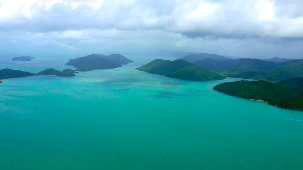 Whitsunday Passage near Airley Beach Queensland