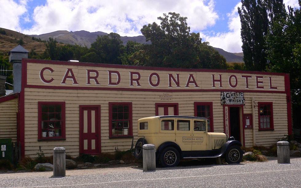 Klettersteig Queenstown : Cardrona von wanaka nach queenstown über die crown range