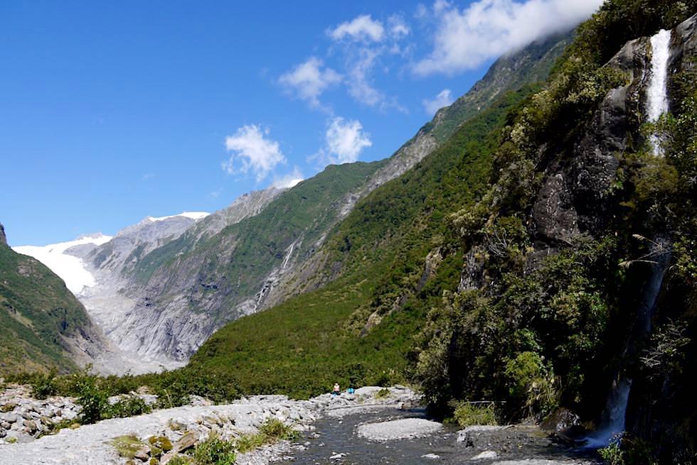Franz Josef Gletscher - Gletschertal-Wanderung - West Coast - Südinsel Neuseeland