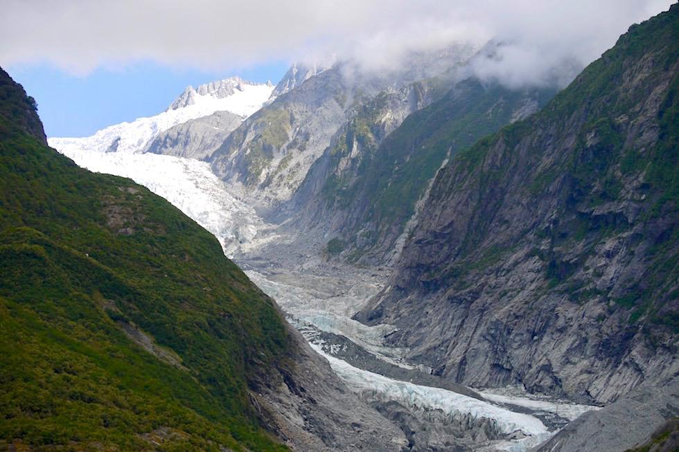 Franz Josef Gletscher - Sentinel Rock Walk - West Coast - Südinsel Neuseeland