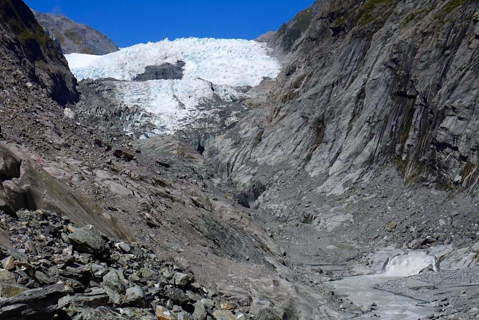 Franz Josef Gletscher - Wanderung & grandioser Ausblick - Südinsel Neuseeland
