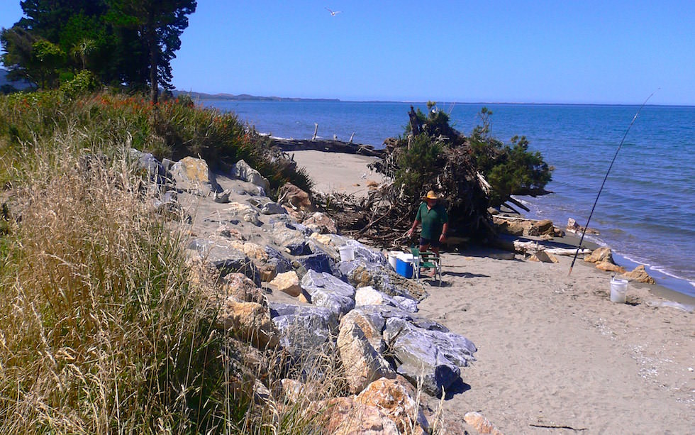 Beach near Cape Farewell NZ
