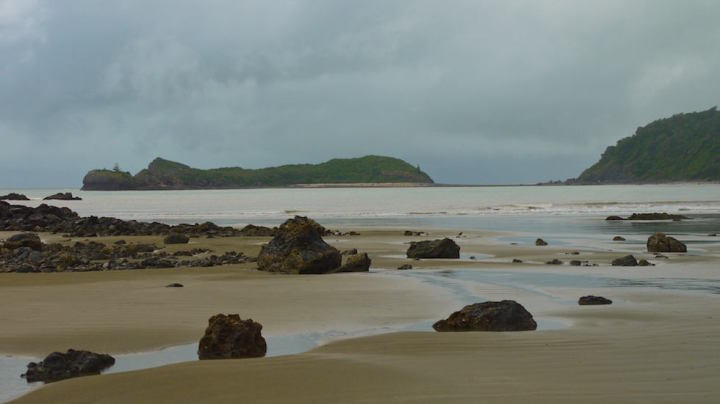 beach at cape hillsborough - North Queensland