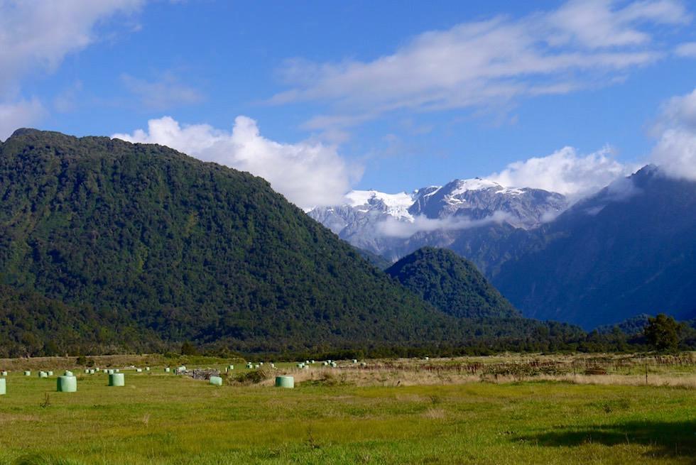 Westland National Park - Faszinierende Landschaft & grandiose Bergkulissen - West Coast - Südinsel Neuseeland