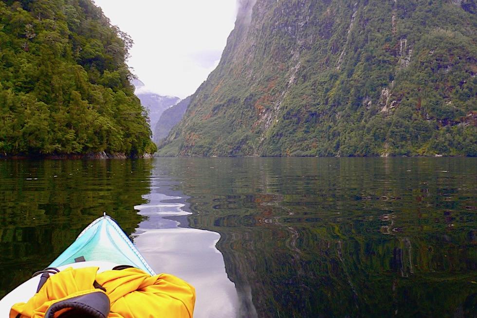 Doubful Sound: der tiefste aller Fjorde - Stille & Natur genießen auf einer Kajak-Tour - Südinsel Neuseeland