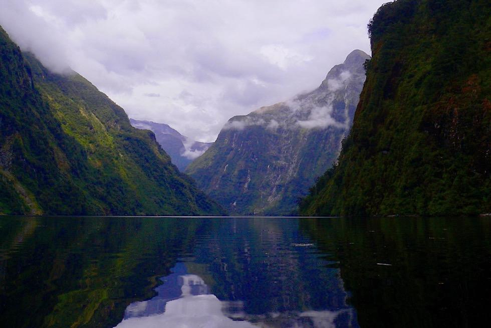 Doubtful Sound - Der überwältigend schöne Fjord der Stille lässt sich am intensivsten mit dem Kajak erkunden - Südinsel Neuseeland
