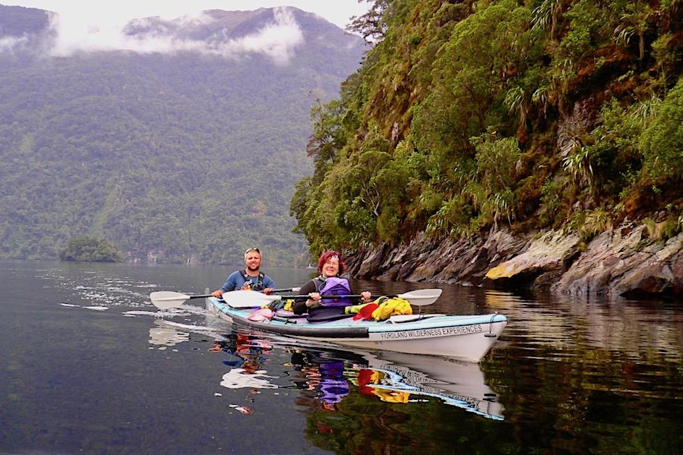 Doubtful Sound - Mehrtages-Kajak-Tour durch einen mystischen Fjord - Südinsel Neuseeland