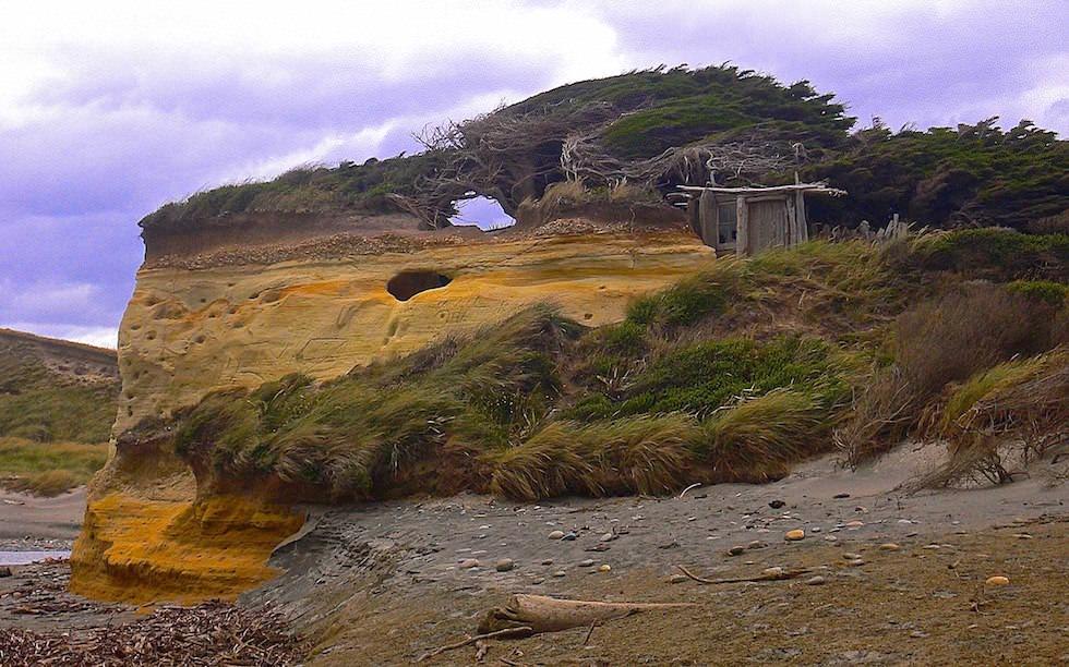 Stormy Te Waewae Bay - South Island West of Invercargill - NZ