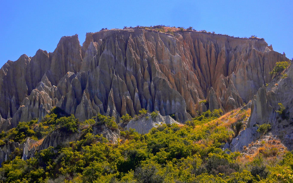 Clay Cliffs near Omarama South Island