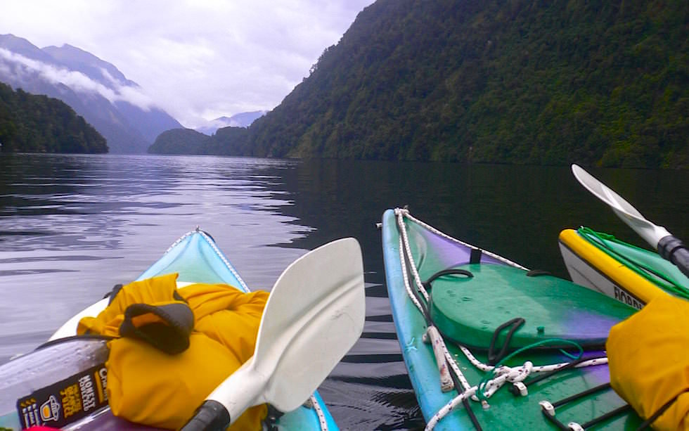 Doubtful Sound New Zealand - Kayak Tour