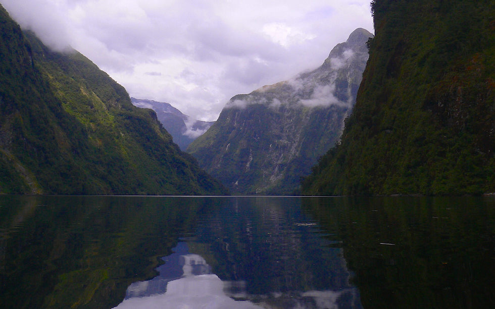 Doubtful Sound in Fiordland National Park