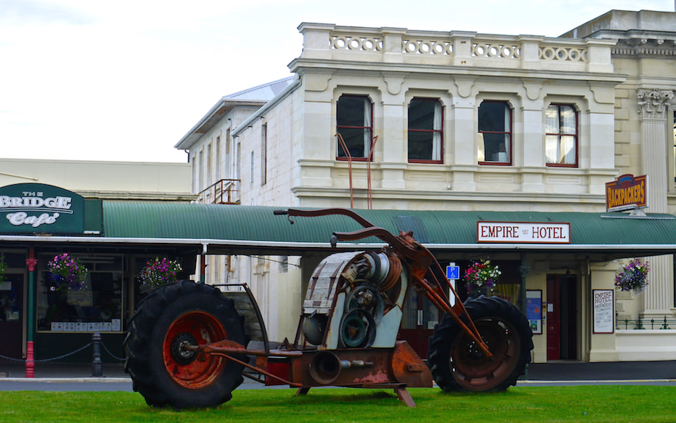 Hotel in Oamaru near Dunedin
