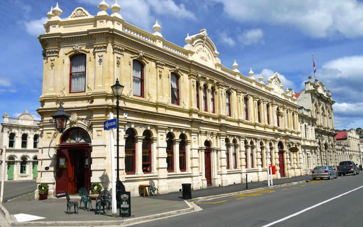Oamaru - Limestone Buildings