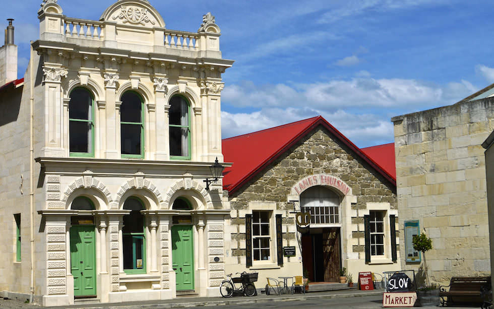 Oamaru - Limestone Buildings Harbour Street