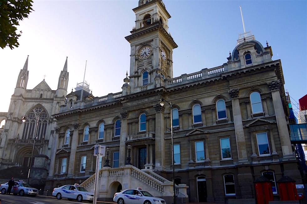 Rathaus von Dunedin & St. Pauls Cathedral - Neuseeland Südinsel