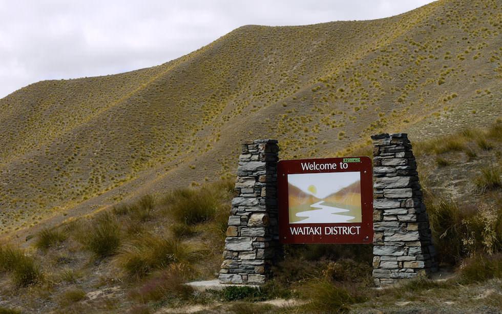 Beautiful Lindis Pass South Island NZ