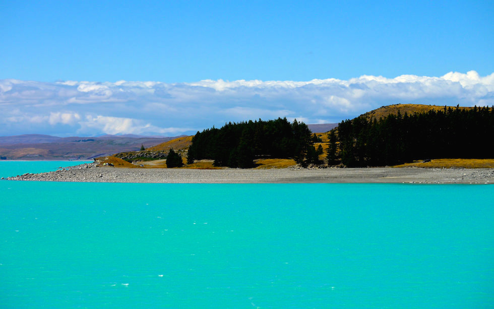Southern End of Lake Pukaki South Island NZ