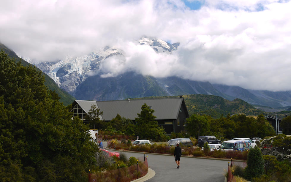 Mt Cook village Aoraki - South Island NZ