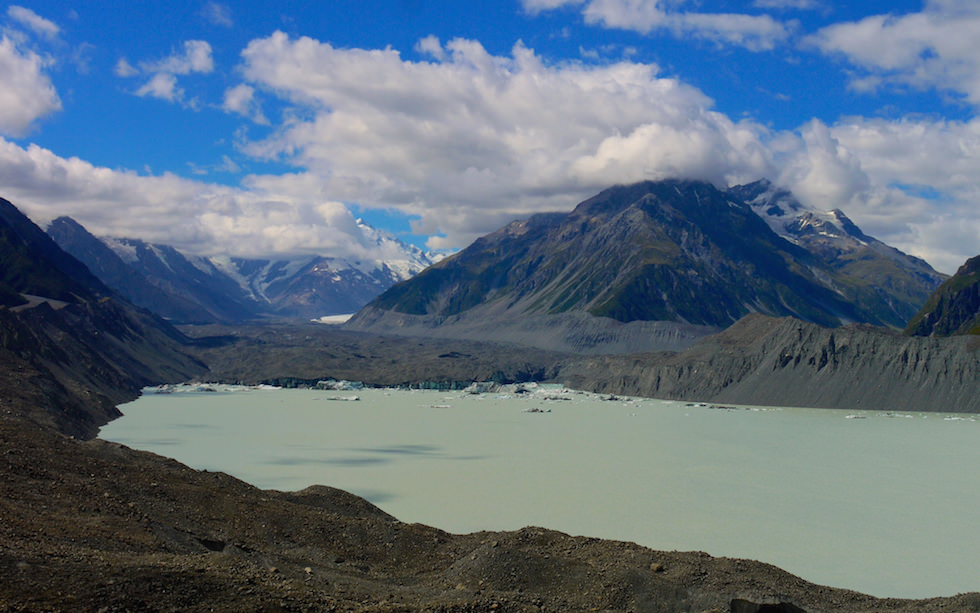 Tasman Lake - View from Tasman Glacier Lake Walk