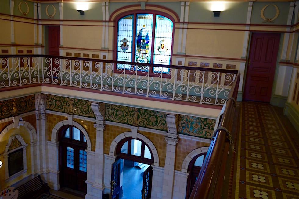 Dunedin Railway Station von innen - Neuseeland Südinsel
