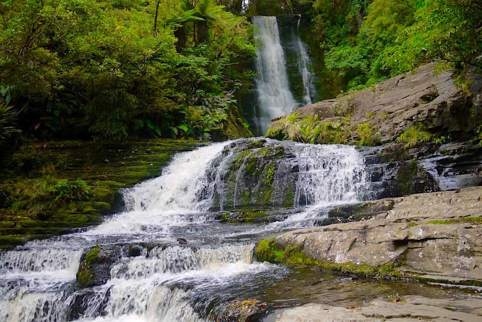 Wasserfälle der Catlins: Wunderschöne McLean Falls - Catlins - Neuseeland