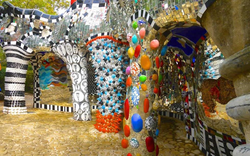 Tarot Garten von Niki de Saint Phalle: Überwältigend! Voller Farben & Spiegel! Märchenhaft ...