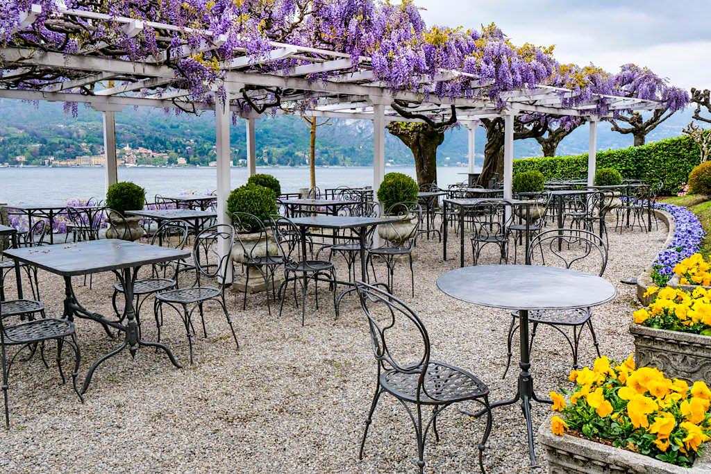 Bellagio - Uferpromenade, Café & Restaurants - Die Perle am Comer See - Lombardei, Italien