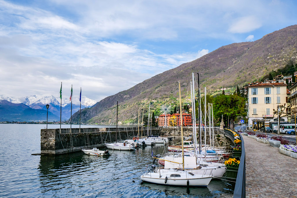 Bellano - Uferpromenade & Hafen - Comer See Insider Tipps - Lombardei, Italien