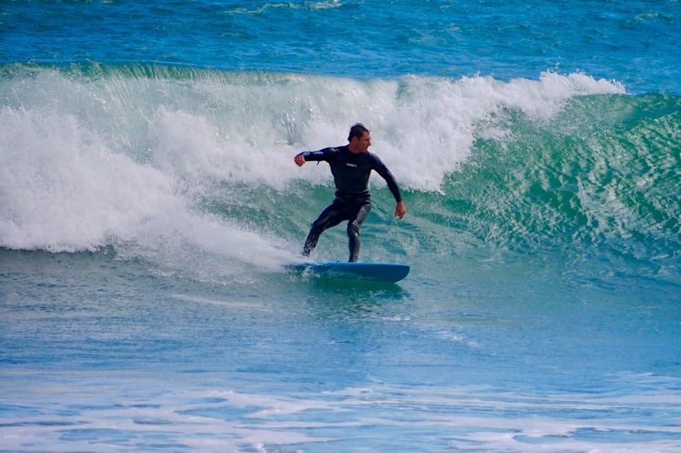 Wildes Cape Palliser - Cooler Surfspot am südlichsten Punkt der Nordinsel von Neuseeland